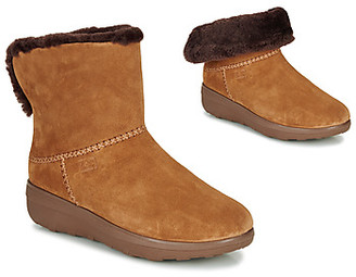 FitFlop MUKLUK SHORTY III women's Mid Boots in Brown