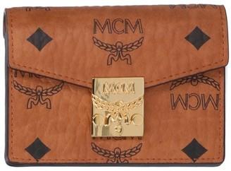 MCM Patricia Visetos Trifold Wallet