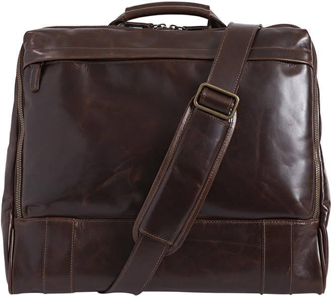 """Moore & Giles Fine Leather Haversack Bag """"Canady"""""""