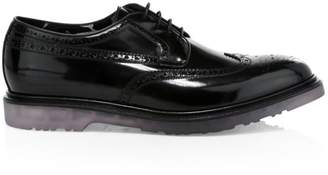 Paul Smith Crispin Brogue Patent Leather Dress Shoes