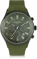 Forzieri Falcon Chrono Men's Watch w/Rubber Strap