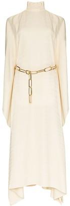 Taller Marmo La Divina cold-shoulder dress