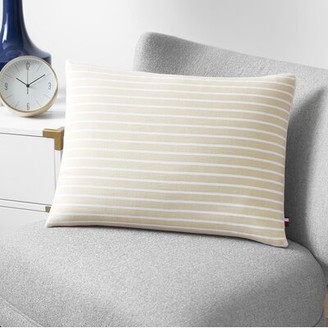 Tommy Hilfiger Cotton Feathers Striped Throw Pillow