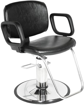 Collins Styling Chair with Chrome Base