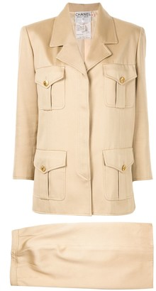 Chanel Pre Owned Setup skirt suit