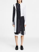 DKNY Dress With Asymmetric Button Thru Placket