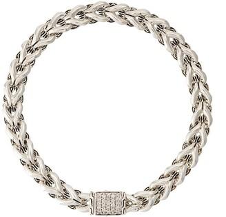 John Hardy Asli diamond classic chain bracelet