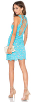 NBD x Naven Twins Headspins Laced Back Mini Dress