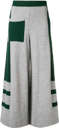 Temperley London Aggie knitted culottes