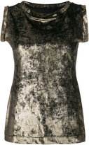 Antonio Marras round neck sleeveless blouse - women - Polyester/Spandex/Elastane - 42
