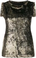 Antonio Marras round neck sleeveless blouse