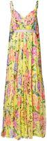 Matthew Williamson Duchess Garden Lemon Parachute Silk Gown