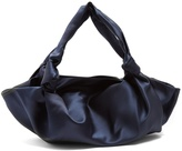 The Row The Ascot satin tote