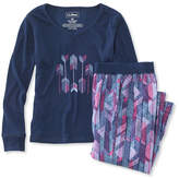 L.L. Bean Girls' Jersey-Knit PJs