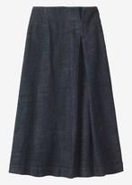 Toast Long Denim Skirt