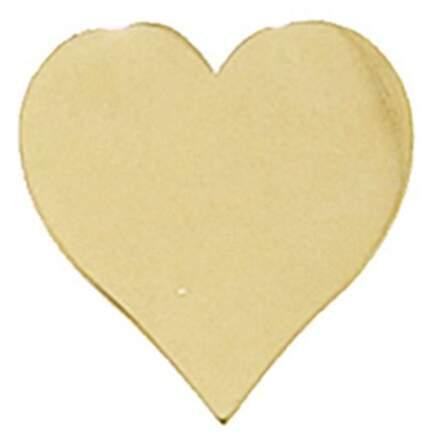 Sydney Evan Single Heart Stud Earring