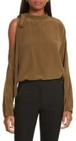 Robert Rodriguez Women's Cold Shoulder Silk Top