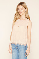Forever 21 Contemporary Lace Blouse