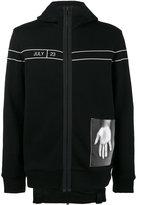 Helmut Lang Black Dream zip hoodie