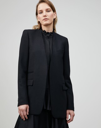 Lafayette 148 New York Petite Luxe Italian Double Face Digby Blazer