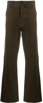 Acne Studios High-Waist Straight-Leg Jeans