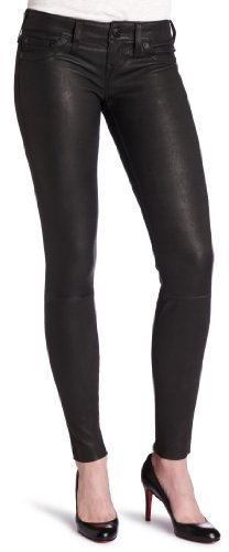 True Religion Women's Casey Stretch Leather Pants