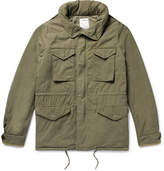 Visvim Cotton-Blend Hooded Field Jacket