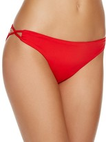 Shoshanna Lattice Side Bikini Bottom