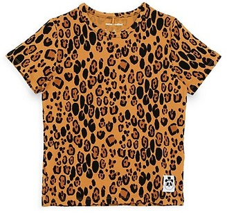 Mini Rodini Little Girl's & Girl's Leopard-Print T-Shirt