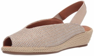 Gentle Souls by Kenneth Cole Women's Luci Slingback 2 Espadrille Wedge Sandal
