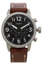 Tsovet Jpt-ts44 Leather Watch