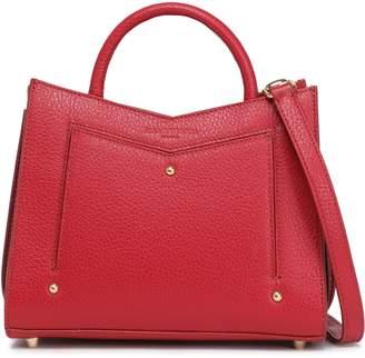 Sara Battaglia Textured-leather Shoulder Bag