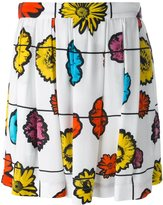 Moschino floral print skirt