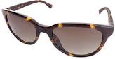 Calvin Klein Havana Cat-Eye Sunglasses - Women