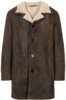 Neil Barrett furry lined coat - men - Lamb Skin - M