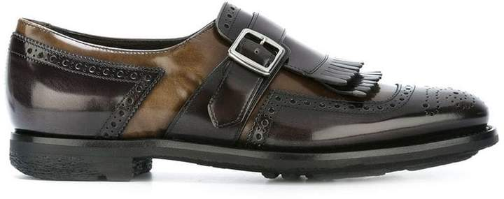 Church's buckled strap loafers