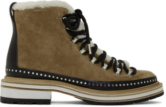 Rag & Bone Tan Suede Compass Boots