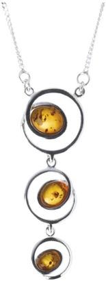 Nature d'Ambre 3170572 Necklace Women's Amber Pendant Necklace Silver 925/1000 42 cm
