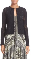 Fuzzi Women's Lace Cardigan