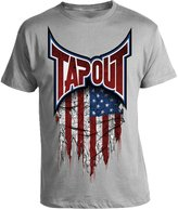 Tapout USA Global Collection Adult T-shirt (XX-Large, Grey)