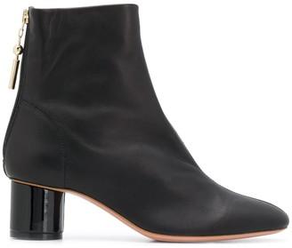 Anna Baiguera Block Heel Ankle Boot