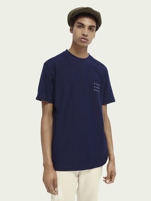 Scotch & Soda Twill structured T-shirt | Men