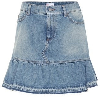 RED Valentino denim miniskirt