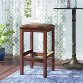 """Regal Beechwood Square Backless Bar & Counter Stool Seat Height: Bar Stool (31"""" Seat Height)"""