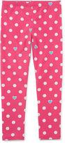Okie Dokie Dots Denim Leggings - Preschool Girls