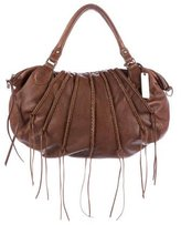 Botkier Fringe Leather Satchel