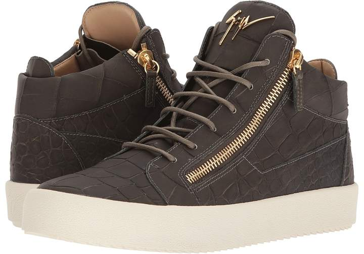 Giuseppe Zanotti May London Stamped Mid Top Sneaker Men's Shoes