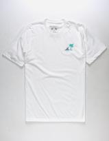 Riot Society Shark Embroidery Mens T-Shirt