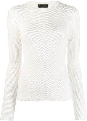 Roberto Collina Ribbed Knit Sweater