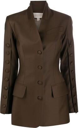 MATÉRIEL Buttoned-Sleeve Blazer